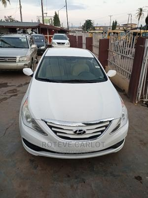 Hyundai Sonata 2014 White | Cars for sale in Lagos State, Abule Egba