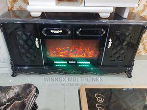 Imported Fire Flame Bluetooth Speakers Tv Shelf   Furniture for sale in Lagos State, Ogudu