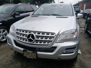 Mercedes-Benz M Class 2009 ML350 AWD 4MATIC Silver | Cars for sale in Lagos State, Apapa