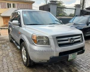 Honda Pilot 2006 LX 4x4 (3.5L 6cyl 5A) Silver | Cars for sale in Lagos State, Ogba