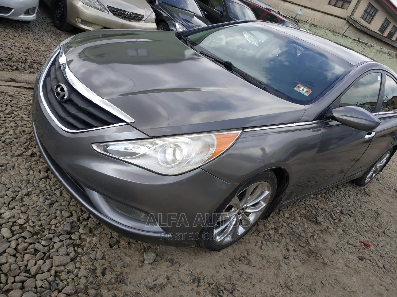 Hyundai Sonata 2013 Gray