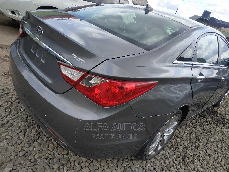 Hyundai Sonata 2013 Gray   Cars for sale in Agege, Lagos State, Nigeria