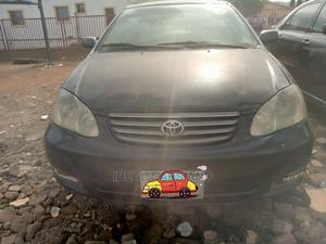 Toyota Corolla 2003 Sedan Automatic Black | Cars for sale in Abuja (FCT) State, Nyanya