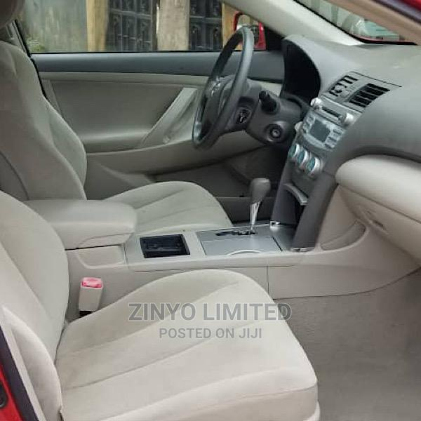 Archive: Toyota Camry 2009 Red