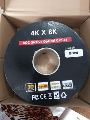 50m Hdmi Active Optical Cable | Computer Accessories  for sale in Rivers State, Port-Harcourt