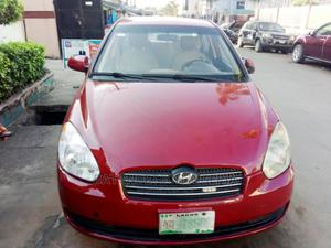 Hyundai Accent 2005 1.3 Red | Cars for sale in Lagos State, Ikeja