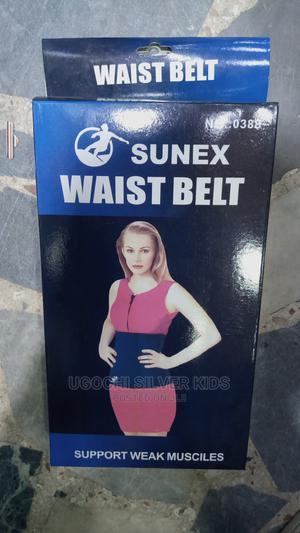 Tummy Trimmer Waist Belt Fitnes | Sports Equipment for sale in Lagos State, Surulere