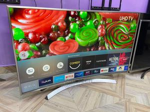 """Samsung 49"""" Curved 4k UHD HDR Smart Tv 