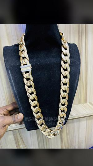 Pure Cuban Chain Is Available for Serious Buyer Inbox   Jewelry for sale in Lagos State, Yaba
