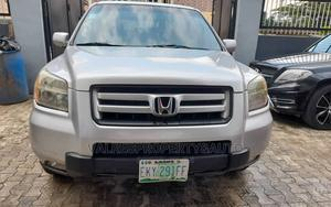 Honda Pilot 2006 EX 4x4 (3.5L 6cyl 5A) Silver | Cars for sale in Lagos State, Ogba