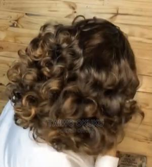 Quality Human Hair Fringe Wig   Hair Beauty for sale in Lagos State, Abule Egba