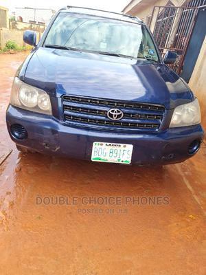 Toyota Highlander 2003 Base AWD Blue   Cars for sale in Ogun State, Ijebu Ode