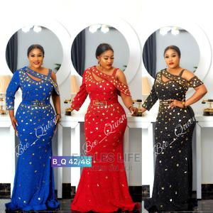 New Quality Female Ladies Turkey Trendy Long Dinner Gown | Clothing for sale in Lagos State, Lagos Island (Eko)