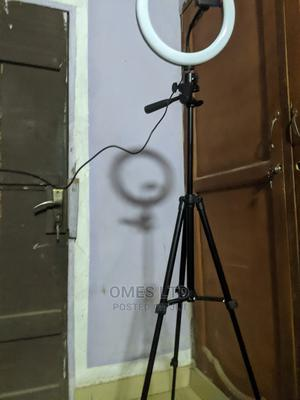 Tripod Stand With Ring Light and Bluetooth Remote   Accessories & Supplies for Electronics for sale in Lagos State, Ojodu