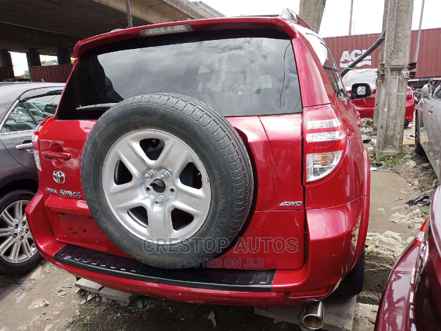 Toyota RAV4 2010 2.5 Limited 4x4 Red | Cars for sale in Apapa, Lagos State, Nigeria