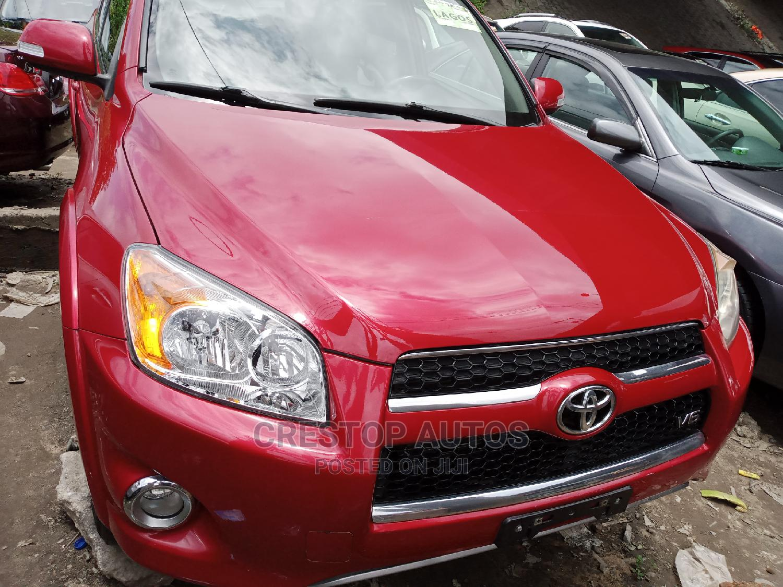 Toyota RAV4 2010 2.5 Limited 4x4 Red
