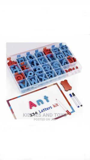 Joynote Classroom Magnetic Letters Kit 234pcs + Magnet Board | Toys for sale in Lagos State, Ogudu