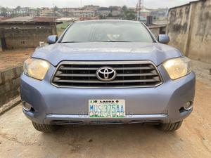 Toyota Highlander 2008 Blue   Cars for sale in Lagos State, Ogba