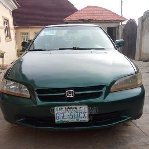 Honda Accord 2002 Coupe Green   Cars for sale in Osun State, Ilesa