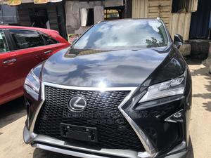 Lexus RX 2019 350 F Sport FWD Black   Cars for sale in Lagos State, Apapa