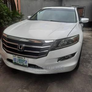 Honda Accord Crosstour 2010 EX-L AWD White   Cars for sale in Rivers State, Port-Harcourt