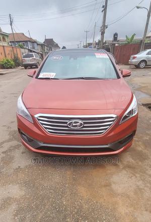 Hyundai Sonata 2015 Orange | Cars for sale in Lagos State, Abule Egba