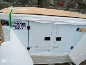 20kva Perkins DIESEL Soundproof Generator 100%Coppa | Electrical Equipment for sale in Lagos State, Lekki