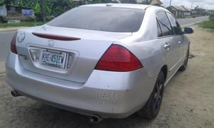Honda Accord 2007 Sedan EX-L V-6 Automatic Silver | Cars for sale in Rivers State, Port-Harcourt