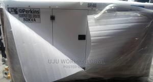 80kva Perkins DIESEL Soundproof Generator 100%Coppa | Electrical Equipment for sale in Lagos State, Lekki