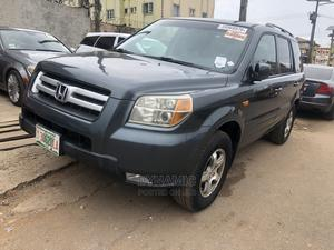 Honda Pilot 2007 EX-L 4x4 (3.5L 6cyl 5A) Gray | Cars for sale in Lagos State, Ikeja