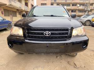 Toyota Highlander 2003 V6 FWD Black   Cars for sale in Lagos State, Ogba