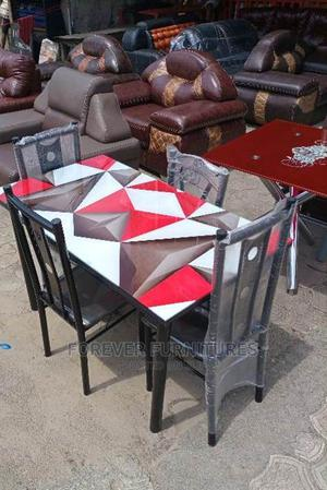 Dinning Table With 4 Chairs | Furniture for sale in Rivers State, Port-Harcourt