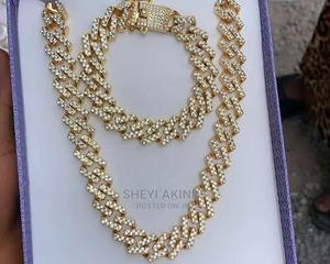Cuban Necklace and Bracelet   Jewelry for sale in Ogun State, Ado-Odo/Ota