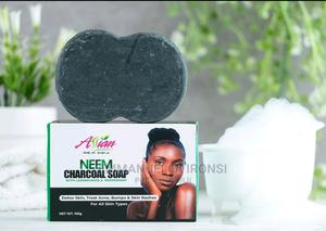 Neem Charcoal Soap | Skin Care for sale in Lagos State, Ogba