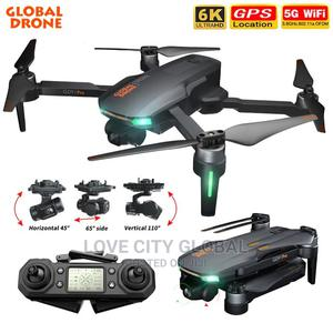GD91 Pro/Max Drone 4K HD Camera 5G Wifi GPS With 2 Batteries | Photo & Video Cameras for sale in Lagos State, Amuwo-Odofin