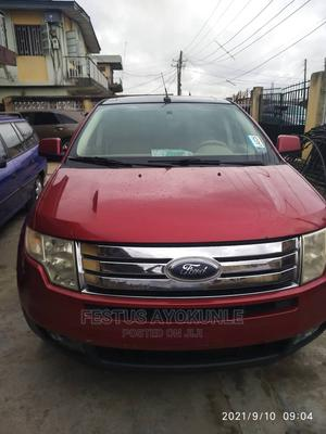 Ford Edge 2007 SE 4dr FWD (3.5L 6cyl 6A) Red | Cars for sale in Lagos State, Ogudu