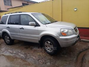 Honda Pilot 2004 Silver | Cars for sale in Lagos State, Agege