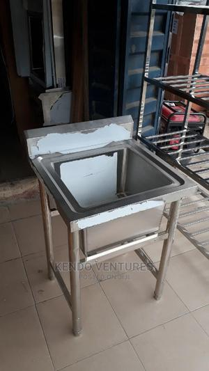 Single Industrial Sink With Side | Restaurant & Catering Equipment for sale in Lagos State, Ojo