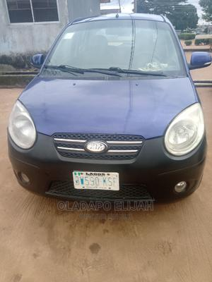 Kia Picanto 2010 1.1 EX Automatic Blue | Cars for sale in Lagos State, Alimosho