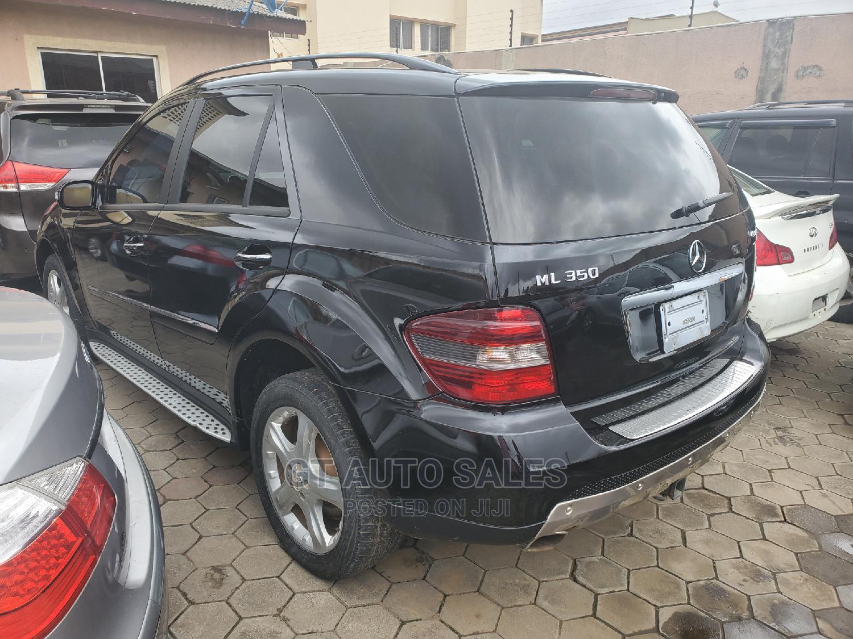 Mercedes-Benz M Class 2007 ML 350 4Matic Black | Cars for sale in Ikeja, Lagos State, Nigeria