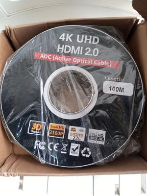 100m Hdmi Active Optical Cable | Accessories & Supplies for Electronics for sale in Rivers State, Port-Harcourt