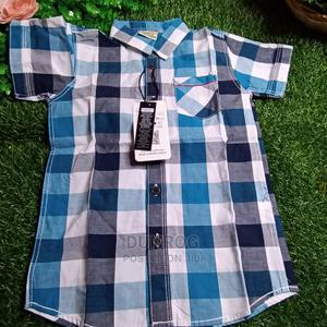 Quality Kiddies Cotton Shirt | Children's Clothing for sale in Lagos State, Ikeja