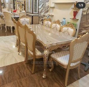 Royal Wooden Dinning Table With Eight Sitter. | Furniture for sale in Lagos State, Ojo