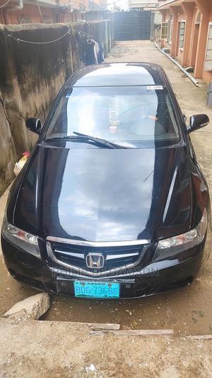 Honda Accord 2005 Sedan LX Automatic Black | Cars for sale in Lagos State, Amuwo-Odofin