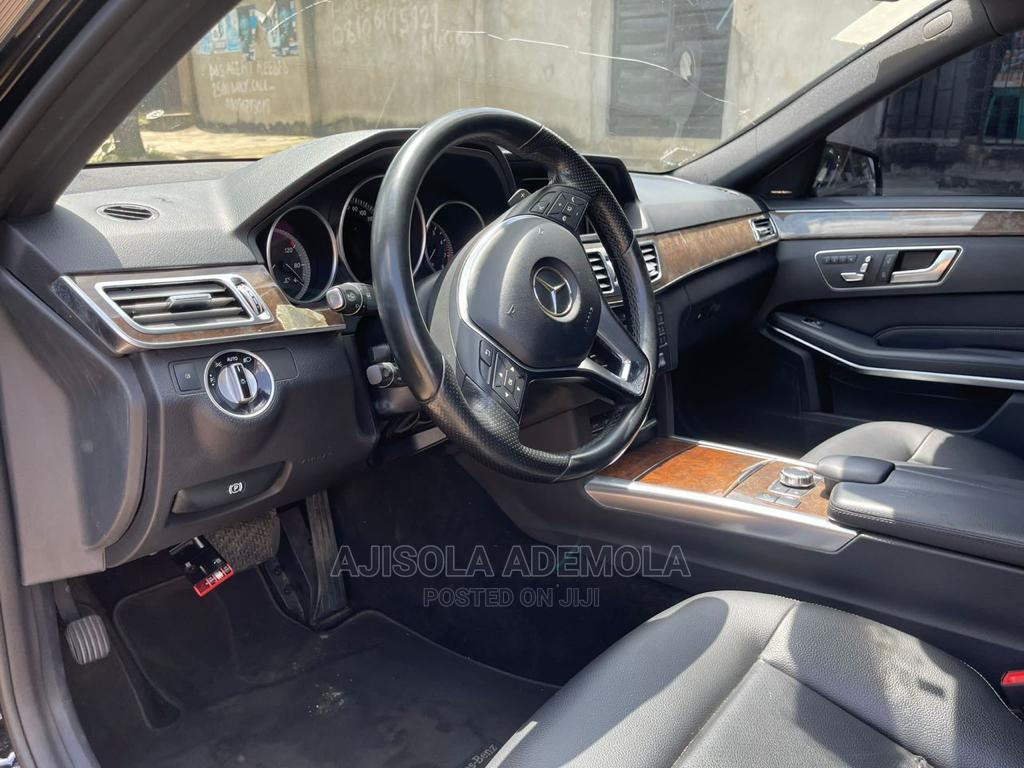 Mercedes-Benz E350 2016 Black | Cars for sale in Ikeja, Lagos State, Nigeria