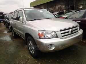 Toyota Highlander 2005 V6 Silver   Cars for sale in Lagos State, Isolo