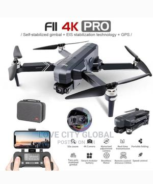 Sjrc F11s 4K Pro 5G Wifi 1.2km Fpv GPS With 4K 2 Battery | Photo & Video Cameras for sale in Lagos State, Amuwo-Odofin