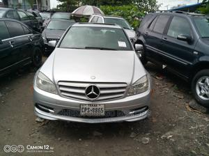 Mercedes-Benz C300 2010 Silver | Cars for sale in Lagos State, Amuwo-Odofin