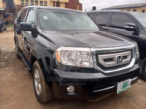 Honda Pilot 2008 EX-L 4x4 (3.5L 6cyl 5A) Black | Cars for sale in Lagos State, Ikeja
