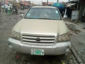 Toyota Highlander 2003 V6 AWD Silver | Cars for sale in Lagos State, Ajah